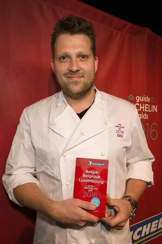 Le chef néerlandais Nick Bril (The Jane, Anvers)