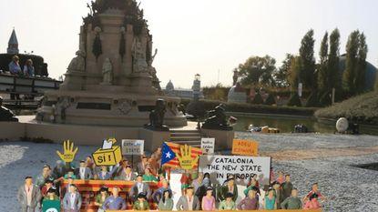 Mini-Europa speelt in op Catalaanse vraag voor onafhankelijkheid