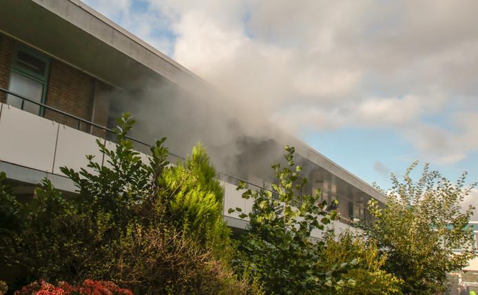 Bij een keukenbrand aan de Monarda in Dordrecht kwam vanmiddag korte tijd rook vrij. De brandweer had het vuur uiteindelijk vrij snel onder controle.