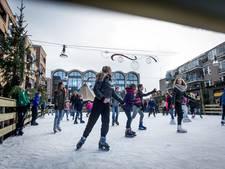 Maandje schaatsplezier in hartje Nijverdal