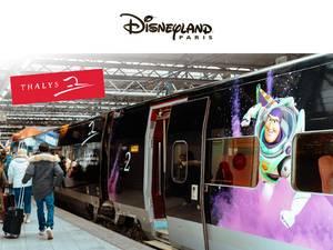 Winactie Disneyland Paris met de Thalys voor 4 personen!