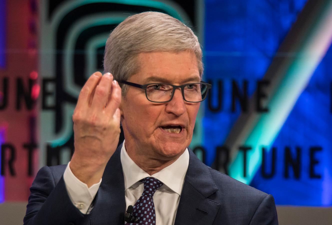 Tim Cook, CEO van Apple