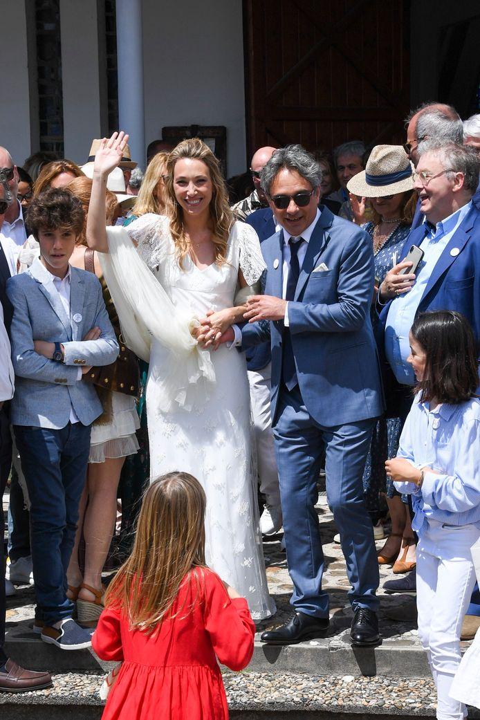 Le mariage de Laura Smet et Raphaël Lancrey-Javal.