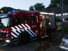 Brand in woning in Goes