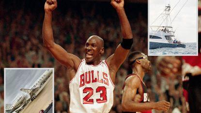 De rijkst gepensioneerde sporter ter wereld: Michael Jordan is intussen 2,3 miljard euro waard en dan kan er al iets van af