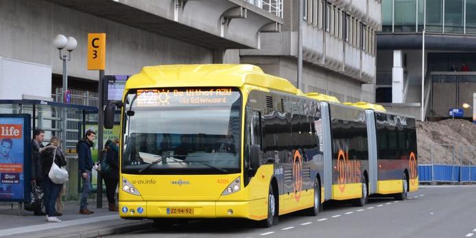 Bus naar De Uithof