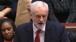 Labour dient motie van wantrouwen in tegen regering-May