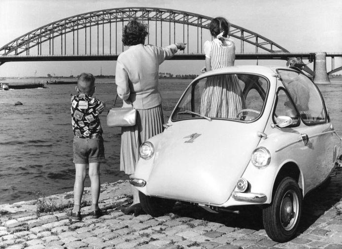 Deze Heinkel uit 1962 was een populaire 'Kleinwagen' uit Duitsland