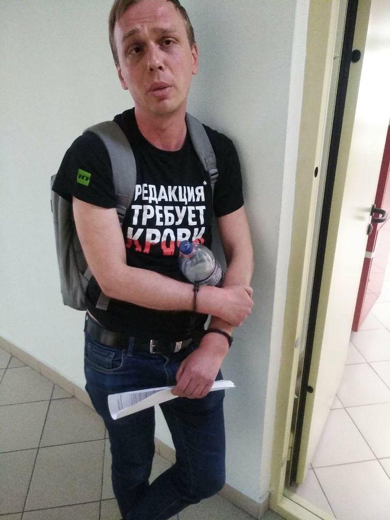 Media-vertegenwoordigers vrezen dat Ivan Goloenov vervolgd wordt omwille van zijn journalistieke werk.
