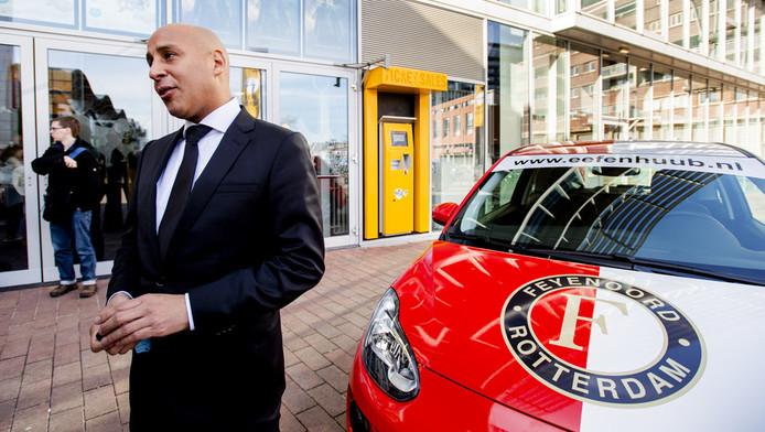 Ex-Feyenoord hooligan en maker van de film Leonardo Pansier