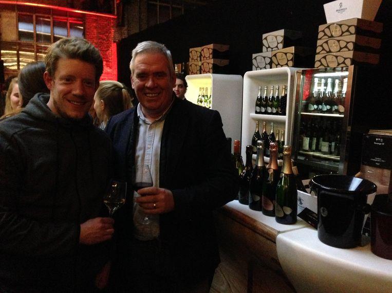 Organisatoren Stefan Frissen en Wouter Van Melkebeek blikken terug op de meest succesvolle Winefair ooit in Leuven.