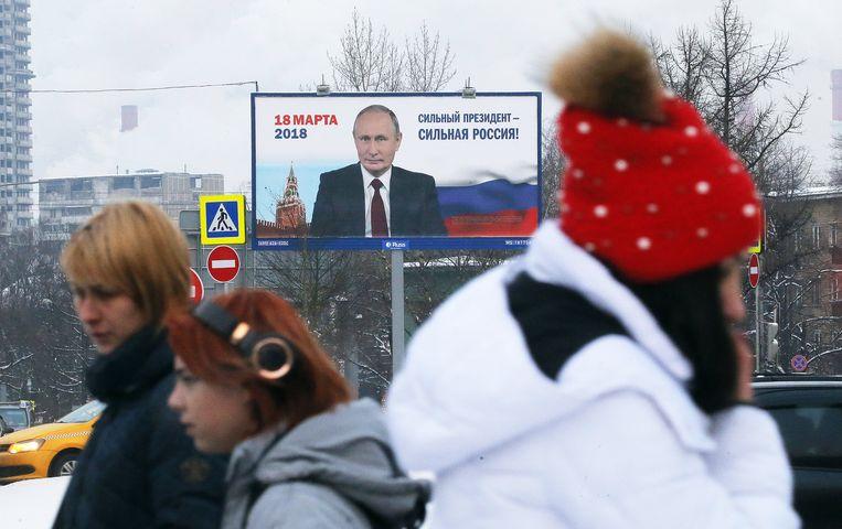 Dat Vladimir Poetin zichzelf als president zal opvolgen geldt als zeker, echte uitdagers zijn er niet.
