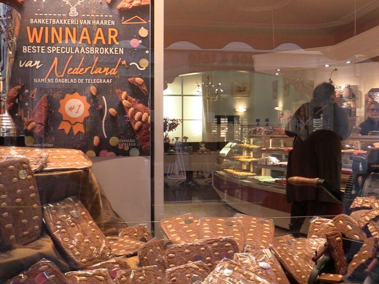 Bredase bakkerij bakt de beste speculaasbrokken: 'Goed gekruid en lekker krokant'