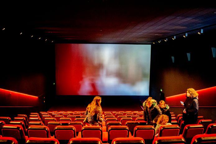 Bioscopen mogen nog maar 30 bezoekers ontvangen.
