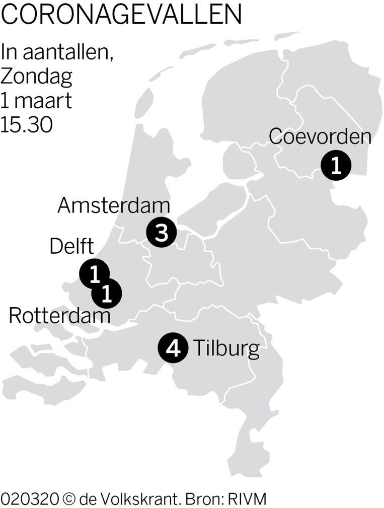 coronavirus ook in nederland de volkskrant