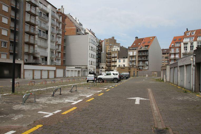 Openbare verkoop ondergrond binnenplein Sylvain Dupuisstraat