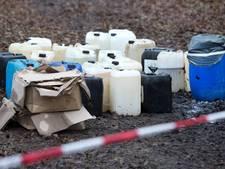 Extreme stank door drugsafval in mestkelder in Leende