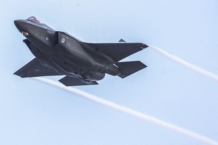 Deze F-35 in een laagvliegroute boven Oost-Nederland? Nee, dat gaat niet meer gebeuren.