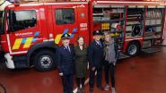 Nieuwe brandweerwagen feestelijk ingehuldigd