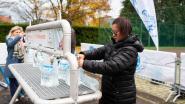 Wat als... het kraantjeswater verontreinigd is? Ekeren decor voor grote oefening over bedeling nooddrinkwater