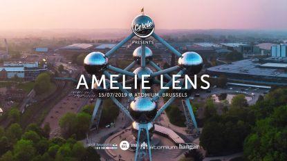 Amelie Lens speelt exclusieve dj-set aan het Atomium