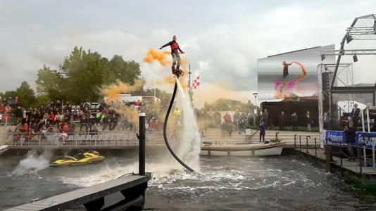 Spectaculaire officiele opening van haven Steenbergen. Foto Majda Ouhajji
