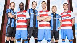 Club Brugge stelt truitjes voor volgend seizoen voor tijdens kampioenenfeestje, vooral uitshirts springen in het oog
