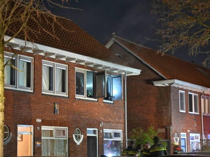 Brand in woning aan de Olmstraat in Breda