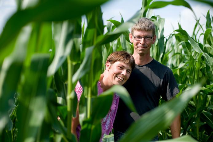 Hubert en Christa Gaakeer, eigenaren van Maisdoolhof de Zuidmoer.