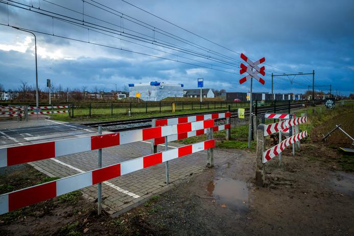 Spoorwegovergang, foto ter illustratie
