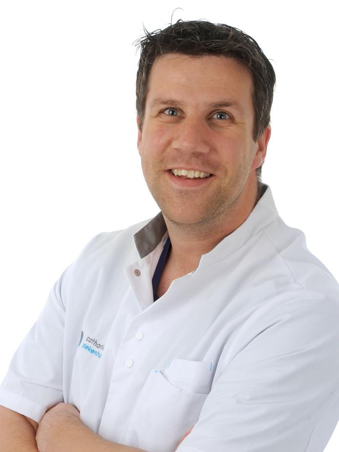 Anesthesioloog Eric Koolen.