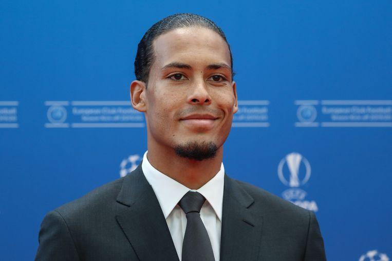 Virgil van Dijk. Beeld AFP