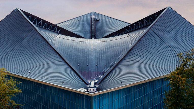 Het nieuwe Design Museum in Londen. Beeld Gareth Gardner