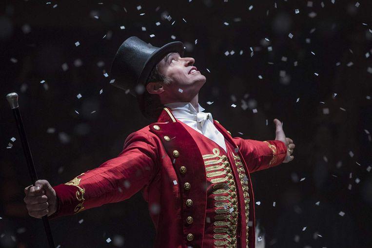 Hugh Jackman in The Greatest Showman Beeld