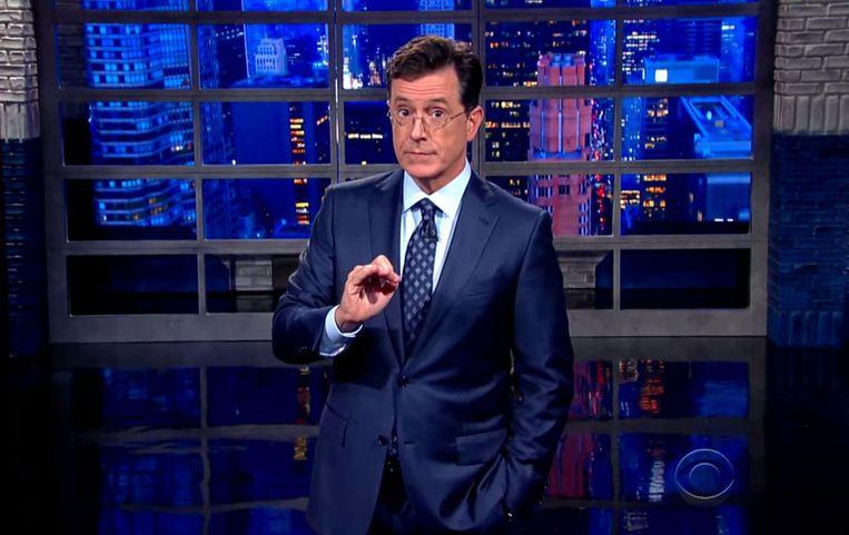 Stephen Colbert Beeld null
