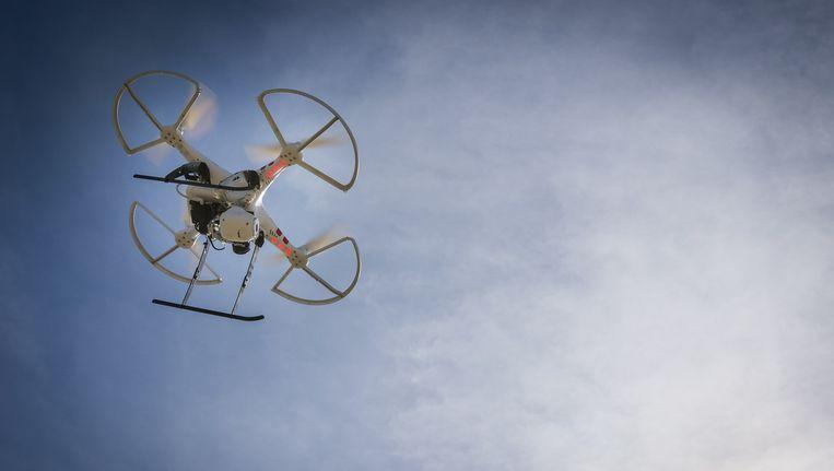 Een drone. Beeld null