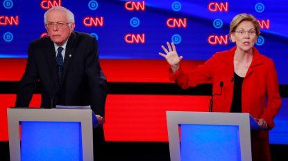 Democratische presidentskandidaten botsen over klimaat en gezondheidszorg