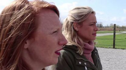 """An Lemmens neemt Linde Merckpoel mee naar """"de kilste plek van België"""": """"Ik durf daar niet binnen. Ik vind dat zo eng"""""""