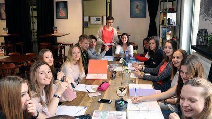 School verhuist voor één dag naar Café De Werft