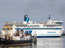 Hoogwater verwacht bij Terschelling: voertuigen kunnen boot niet af