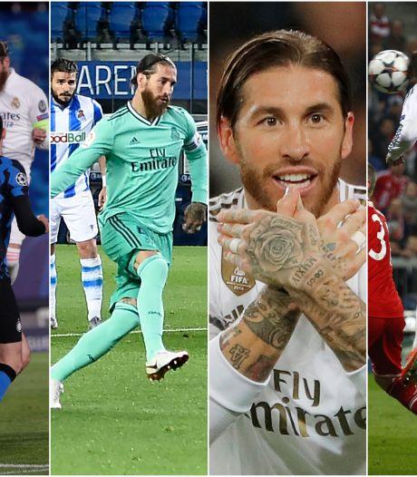100 goals Sergio Ramos, zó ziet dat eruit