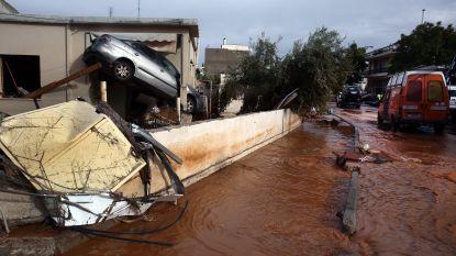 Dodental noodweer Griekenland stijgt tot 19