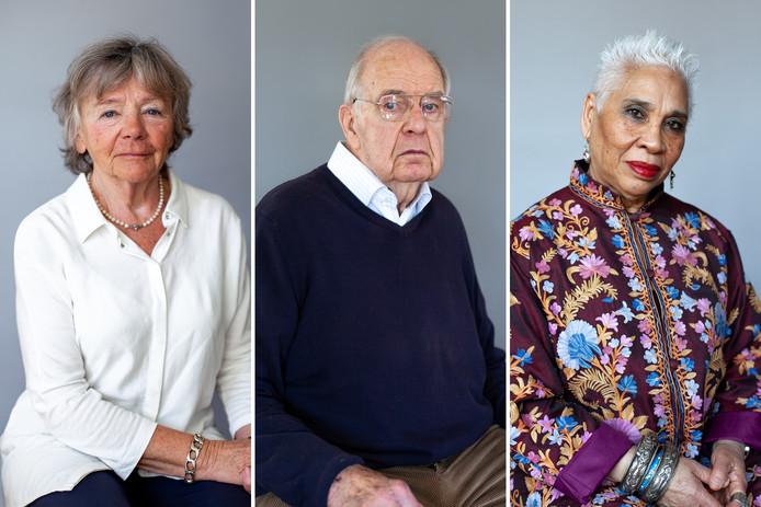Christine van Hout , Meinard Noothoven van Goor , en Ina Koolhaas Revers