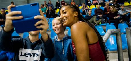 """Nafissatou Thiam: """"Contente de ma prestation en salle à Gand"""""""