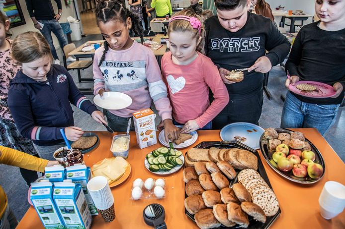 Nationaal Schoolontbijt bij de Zuidwester.