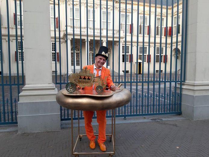 Johan Vlemmix is er altijd bij op Prinsjesdag.