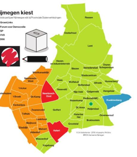 Tweedeling in Nijmegen is zichtbaarder dan ooit