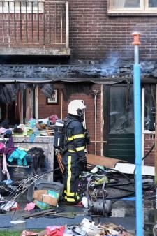 Flinke uitslaande brand in Oisterwijk, bewoner gewond, huis mogelijk onbewoonbaar