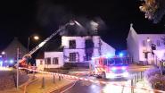 Brand aan historisch pand flakkert week later weer op, straat afgesloten wegens instortingsgevaar