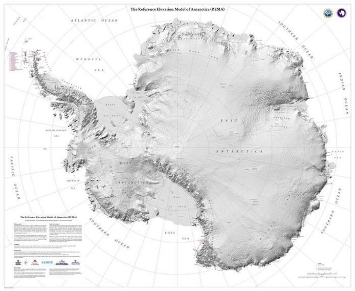 Afbeeldingsresultaat voor antarctica kaart